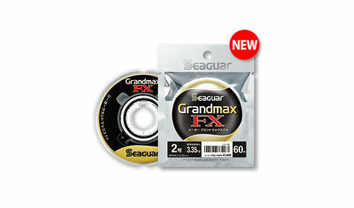 0.117mm//0.80kg -60m FLUOROCARBON 100/% from Japan SEAGUAR GRAND MAX FX #0.5