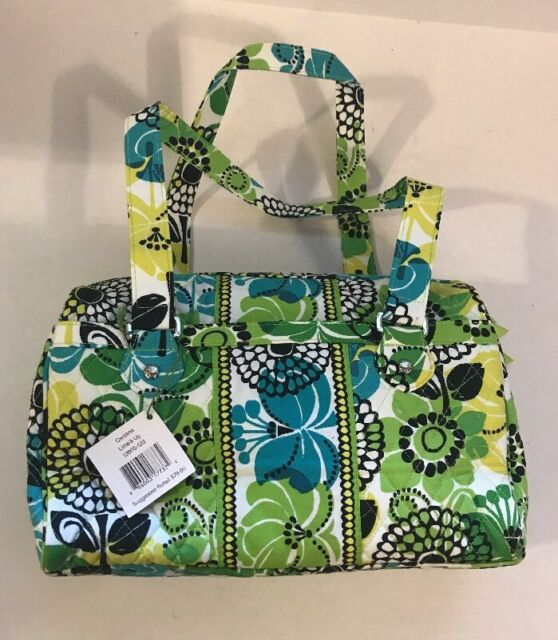 Vera Bradley Lime S Up Caroline Purse