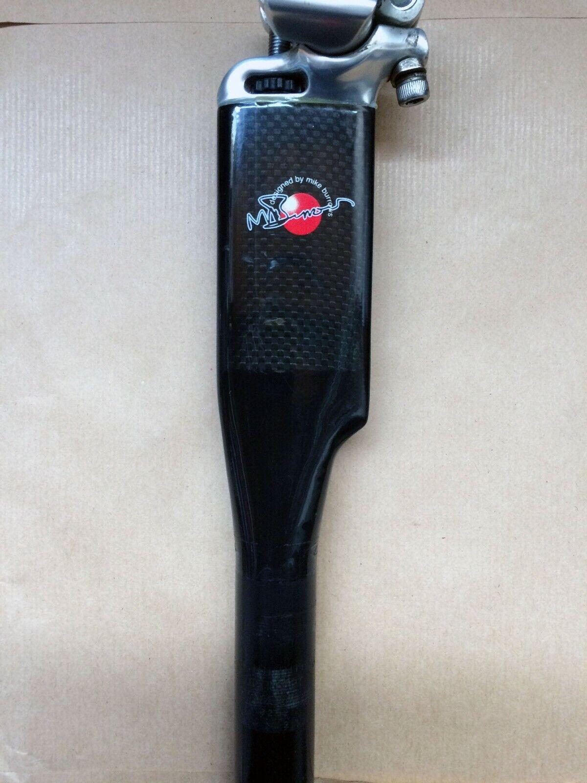 Seatpost mike burrows carbon fiber 27,2mm