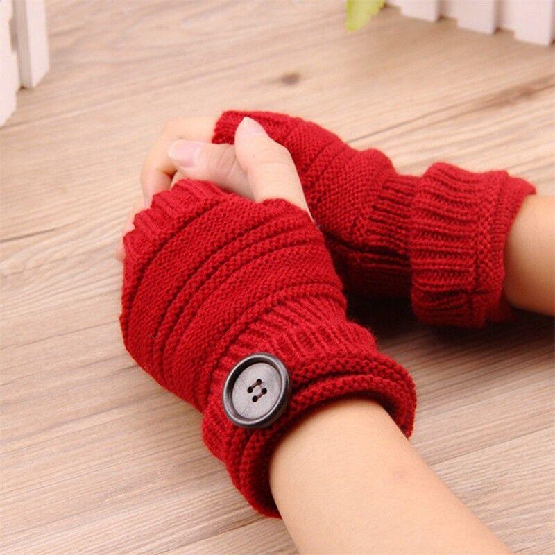 Gloves Arm warmers Wrist warmers Hand cuffs Knit Fur Fingerless Long Gloves New