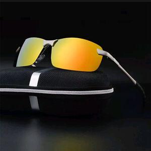 70d1feec43 Image is loading Mens-Polarized-Sunglasses-Aviator-Driving-Fishing-Glasses- Eyewear-