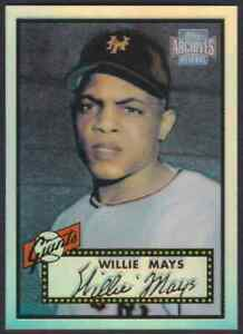 2001-TOPPS-ARCHIVES-RESERVE-REPRINT-WILLIE-MAYS-NEW-YORK-GIANTS-91-OF-100