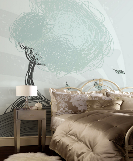 3D Paint Tree 4779 Wallpaper Murals Wall Print Wallpaper Mural AJ WALL UK Kyra