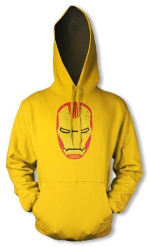 Impresión envejecida Stark Iron Man Cabeza Palabra Nube Sudadera Con Capucha Con Capucha Niños 3 12YR