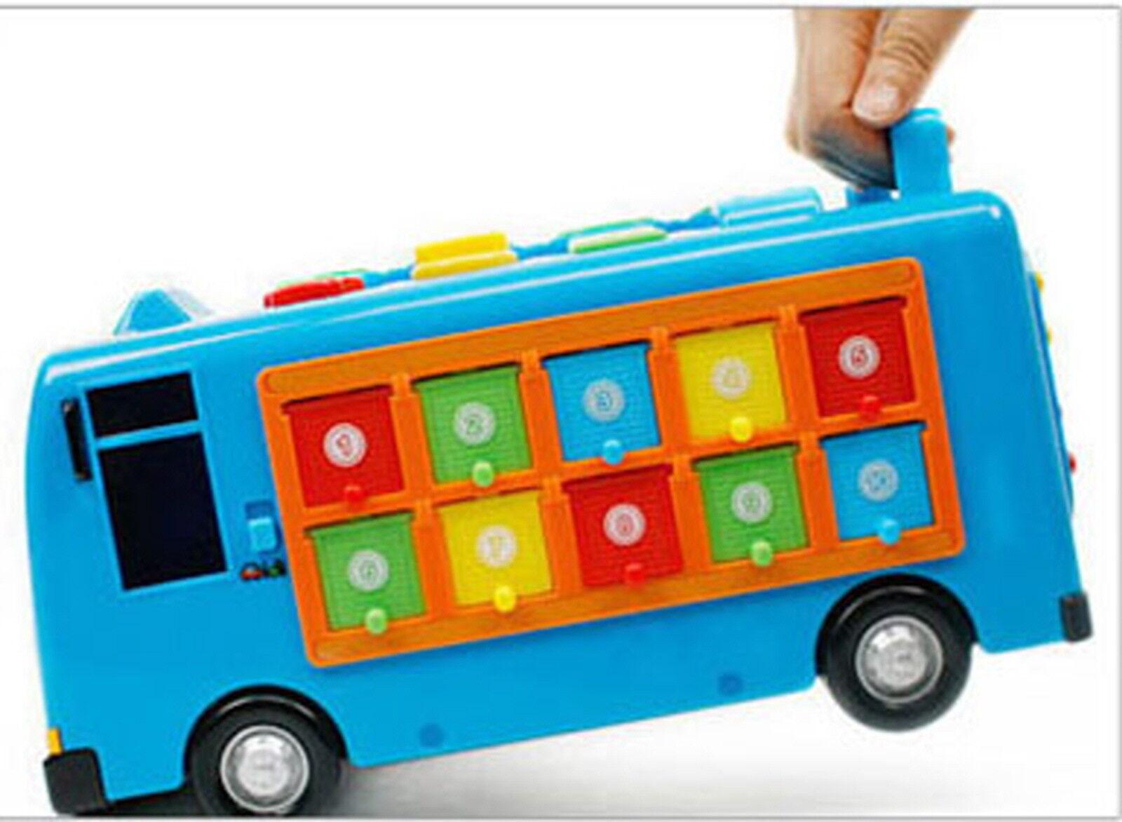 Little Bus Smart Tayo Bus Educational Learning Toy Talking Melody Melody Melody Korea Cartoon 066e01