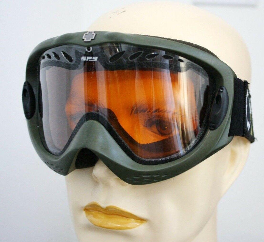 SPY SKI SNOWBOARD GOGGLES AMBER