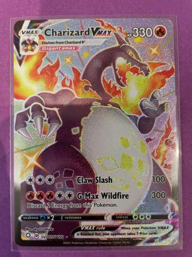 Shiny Charizard VMax (SV107/SV122)  - Shining Fates Pokemon - NM/Mint