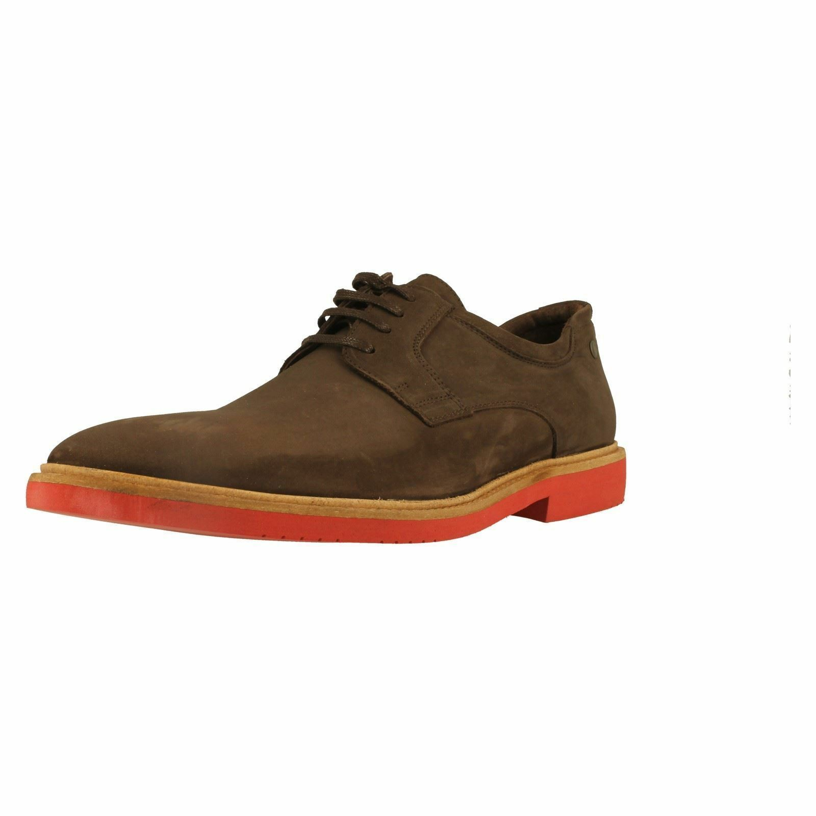 SALE Base London 'Gatsby' Mens Brown Slip On Leather Suede Casual shoes