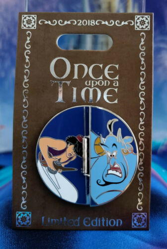 Aladdin LE 2000 Jasmin Genie Disney Pin Once Upon A Time