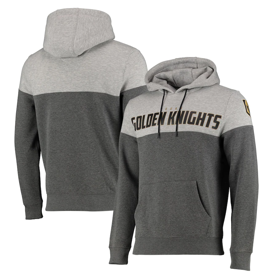 Vegas Golden Knights Hoodie Men's Fanatics NHL Cut & Sew Hoodie - New