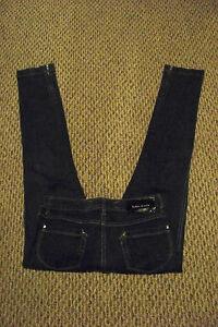 X Faded 5 29 5 Leg Wash Zip Miller Karen 27 Dark Størrelse Jeans Kvinders Skinny 7wqSZS