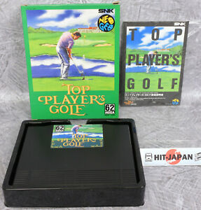 TOP-PLAYER-039-S-GOLF-NEO-GEO-AES-FREE-SHIPPING-Ref-1835-SNK-neogeo-JAPAN-Game