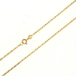 375-Solid-9ct-Yellow-Gold-Oval-Belcher-Chain-Necklace-Diamond-Cut-16-034-18-034-20-034