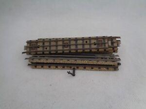 Vintage-Meccano-Hornby-Dublo-Rail-Straight-Track-OO-Gauge-Set-of-7