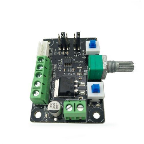 1PCS axes Pas à Pas Moteur Conduite Controller Pulse PWM Vitesse inverser Control New