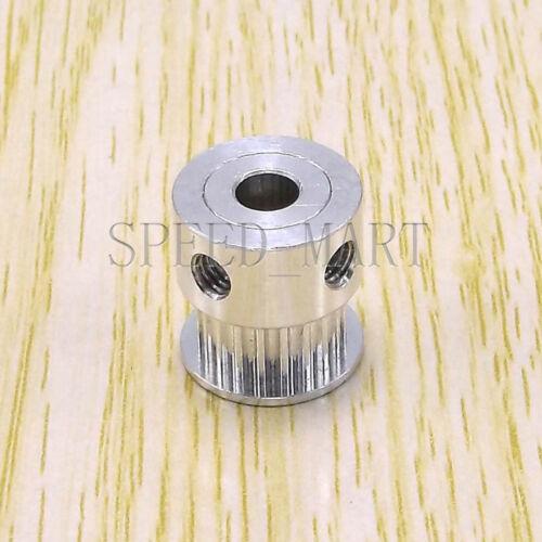 10 pcs GT2 Aluminum Timing Belt Pulleys 20T 8mm Bore 11mm Width for 3D Printer