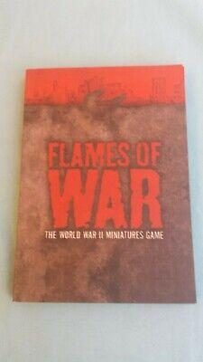 Bello Flames Of War The World War Ii Miniatures Game Libro Regole In Inglese English