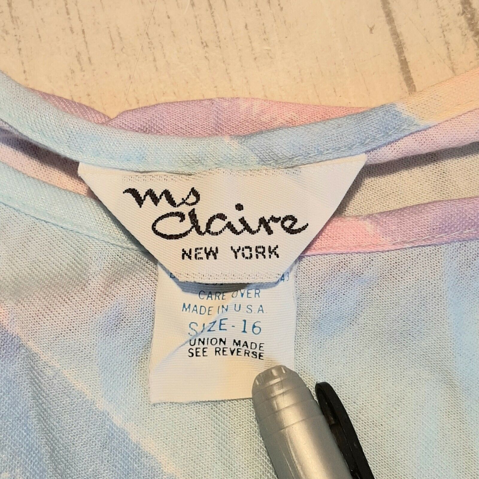 Vintage Ms. Claire New York Sleeveless Easter Dre… - image 2