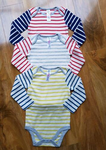 BRAND NEW BODEN Baby Boys//Girls 3 Pack Bodysuit Newborn-24 months 2-3 years