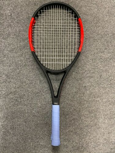 Tennis Racket Red Spin 310g 10.9oz 18x17 Wilson Pro Staff 97S STRUNG 4 1//4