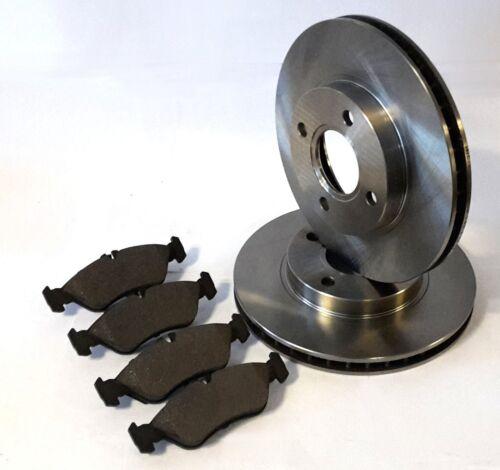 SMART FORFOUR 1.5 CDI Set 2 disques de frein 4 Garnitures Devant Pour l/'Essieu Avant