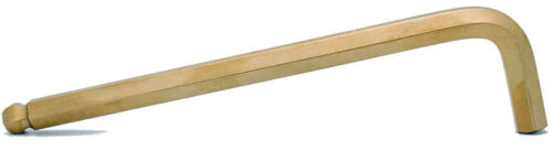 2pcs 8.0mm Hex BallDriver®Long Arm L-Wrench W//GoldGuard™Finish Bondhus USA 38072