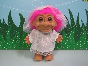 "GARDENER GARDEN GIRL NEW IN ORIGINAL WRAPPER 5/"" Russ Troll Doll"