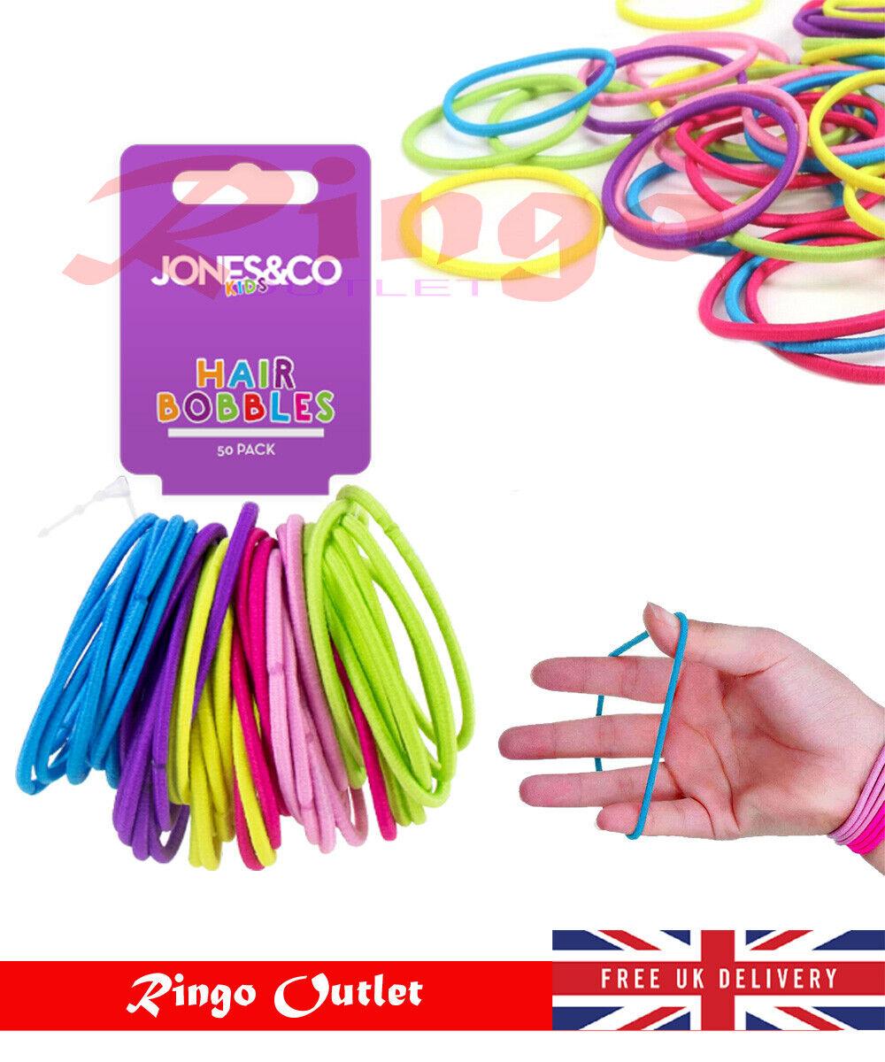 70x Quality Thick Endless Snag Free Hair Band Elastics Bobbles Bands Ponios UK