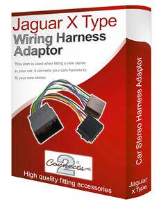 jaguar x type cd radio stereo wiring harness adapter lead. Black Bedroom Furniture Sets. Home Design Ideas