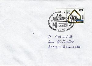 Stempel Kiel 100 Jahre Antarktisforschung mit MiNr. 1648 - Deutschland - Stempel Kiel 100 Jahre Antarktisforschung mit MiNr. 1648 - Deutschland