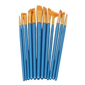 Brushes-Pen-Gouache-Nylon-Hair-Art-Supplies-Long-Handle-Watercolor-Paint-H