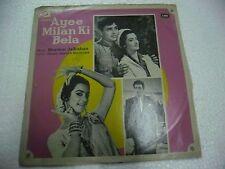 AYEE MILAN KI BELA SHANKAR JAIKISHAN 1964  RARE LP RECORD OST orig BOLLYWOOD EX
