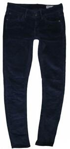 hueftige-G-STAR-RAW-3301-Damen-Cord-JEANS-in-blau-in-ca-W27-034-L32-034