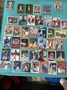 Ken Griffey, Jr. Huge 40 card LOT NO DUPLICATES Rare Inserts (7AA)