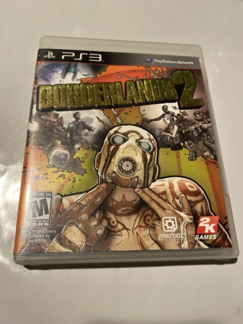 Borderlands 2 (Sony PlayStation 3, 2012) PS3 Complete Game ...Ps3 Games List 2012
