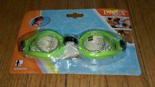 3ae6dd2c7657 Intex Swim Goggles Swimwear Swimming Green 55602 Ages 3-10 Play Pool Ocean  Lake