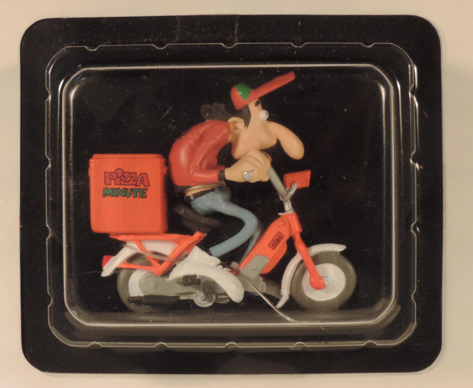 Moto Joe Bar Team 074 Piaggio 50  Pizza minute  1 18 figurine Hachette