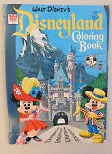 1971 Disneyland Coloring Book Mickey Mouse Club Whitman Never Used - RARE