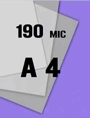 1 x A4 Mylar Sheet 190 Microns Making Airbrush Stencils Craft Laser Safe mic Art