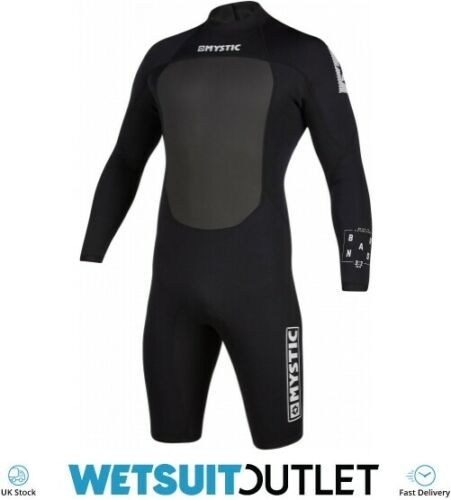 Mystic Sport Acquatici Surf Kitesurf Windsurf da uomo Brand 3//2mm manica lunga indietro