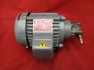 Chen Ying PMO102E131+CYP-13AVB Horiz Motor w// Adj Oil Pump 3 PH 230//440V 1//4HP