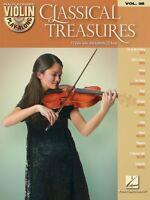 Classical Treasures Violin Play-along Book And Cd 000842647