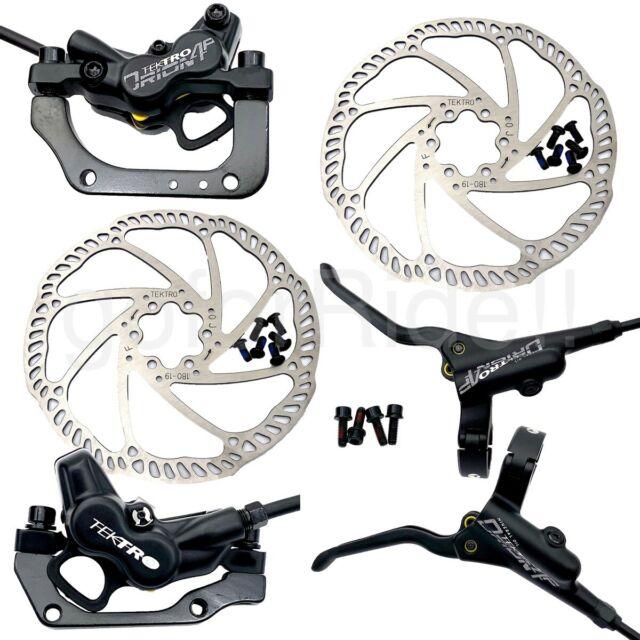 new Tektro auriga hd-m290 brake set black pair brake tektro hd-m290