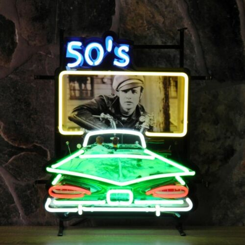 New 50'S DRIVE IN American Style Retro Neon Diner Sign For Hanging Or Standing