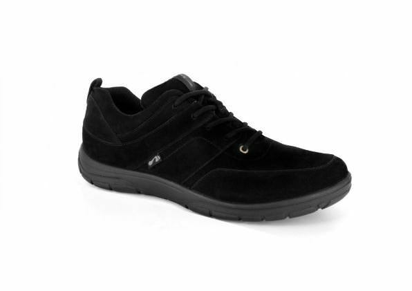 Strive Footwear Ladies Maine Lace Active shoes + Trainers In Black Biomechanical