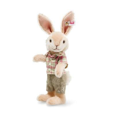 Steiff Rabbit Boy 2020 limited edition mohair bunny 006517 BNIB