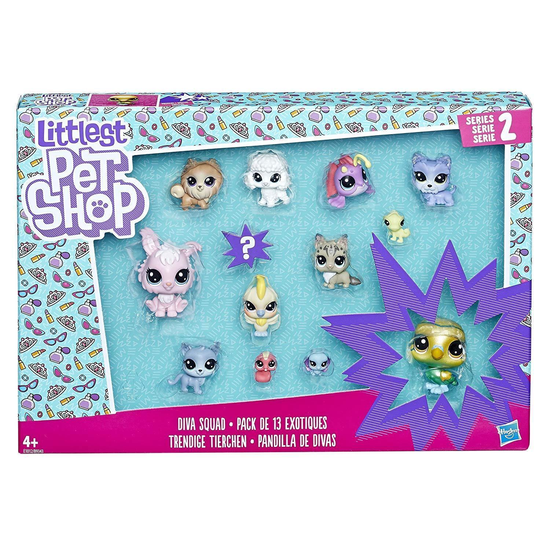 Littlest Pet Shop The Diva Squad collection of 13 pets UK seller