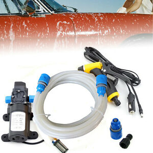 80w electric car wash device portable high pressure washer Car wash motor pump