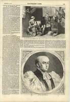 1857 Invention Of Stocking Loom Elmore Late Bishop Charles Blomfield