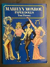 Marilyn Monroe Paper Dolls by Tom Tierney 1979